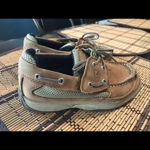 Toddler boy Sperry boat shoes size 11m